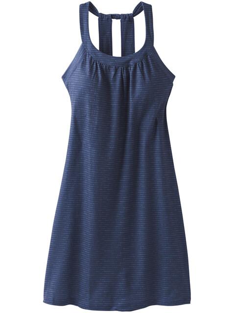 Prana Cantine Dress Women blue anchor sea spray